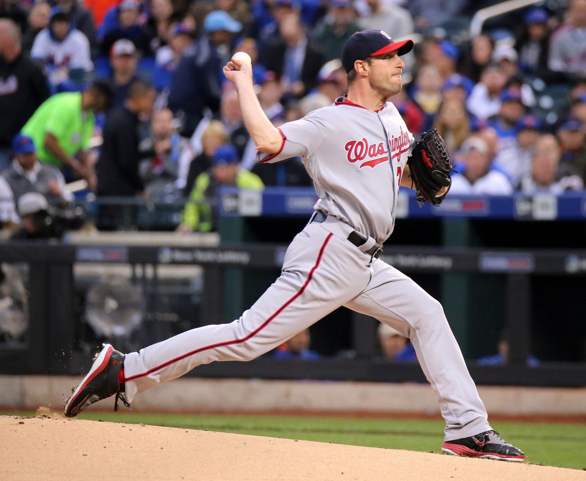 Washington Nationals pitcher Max Scherzer on May 17, 2016. Arturo Pardavila III/Flickr (Creative Commons)