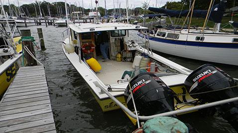 Sea Tow Annapolis's 29-foot vessel Sea-Cure