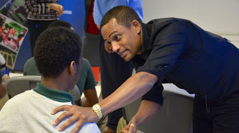 Tv Actor Hill Harper Tries To Help Boys In Maryland Juvenile