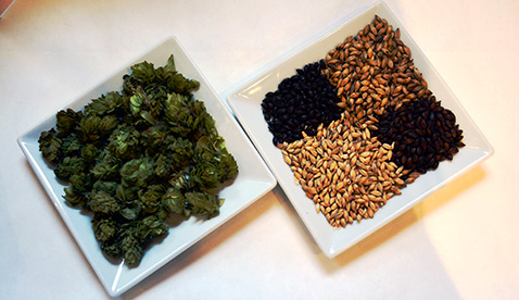 Hops and Grains