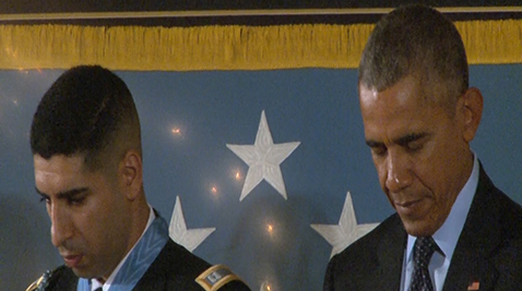 Medal of Honor Ceremony at the White House
