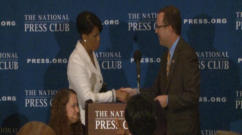 Mayor Rawlings-Blake at the National Press Clu