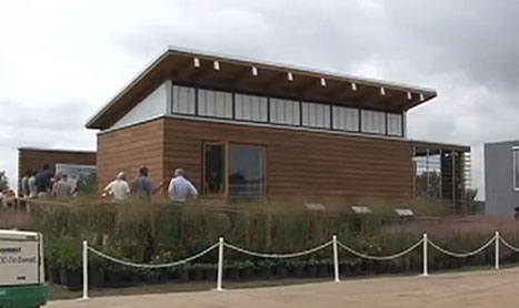 WaterShed, the University of Maryland solar house
