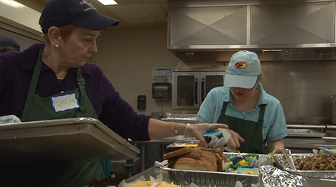 Our Daily Bread prepares food for the homeless