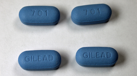 Truvada, the HIV-prevention pill used for pre-exposure prophylaxis (PrEP). Photo by Jeffrey Beall/Wikimedia