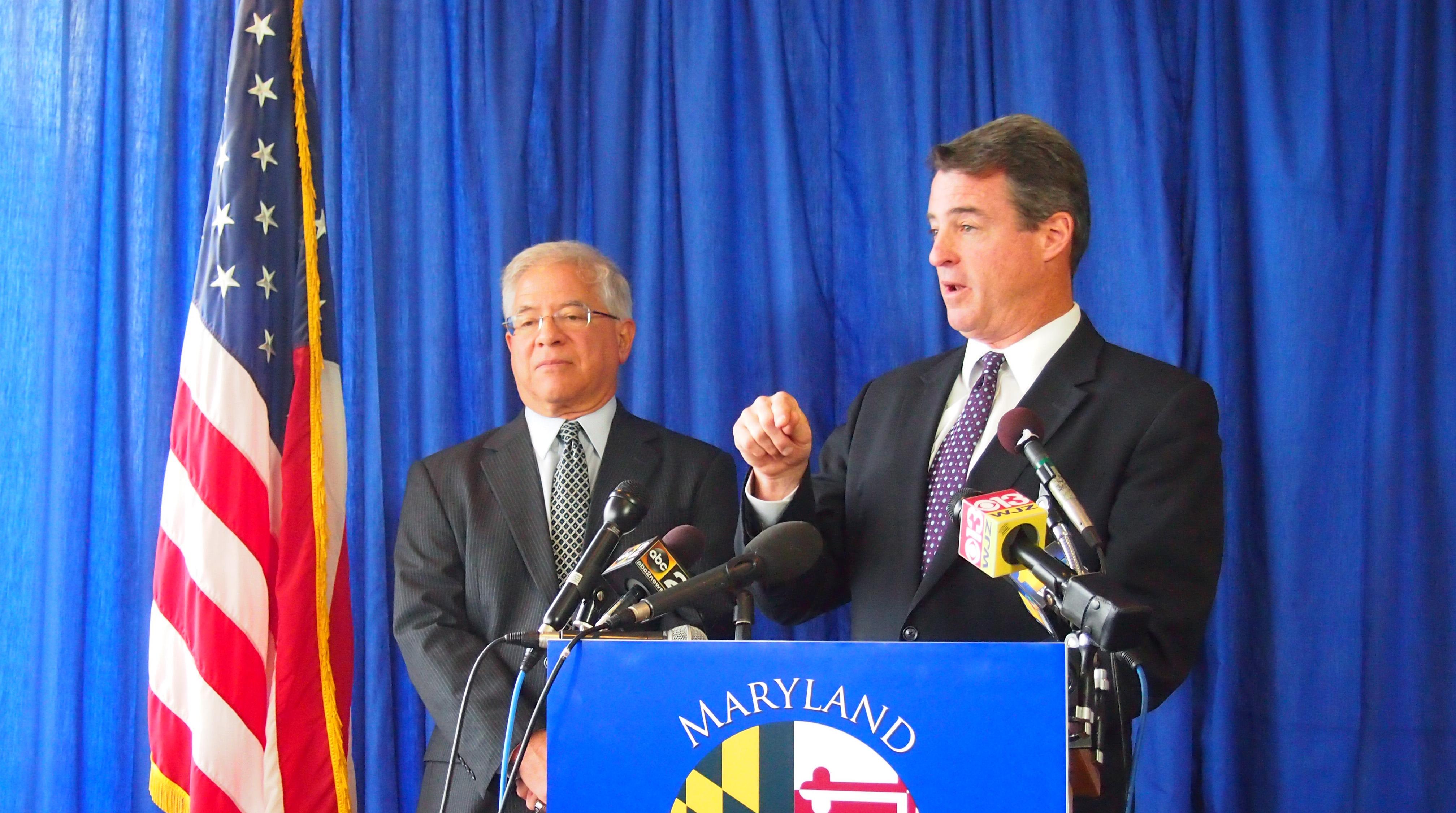 Delegate Sandy Rosenberg and Attorney General Doug Gansler