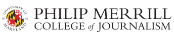 Univeristy of Maryland Philip Merrill College of Journalism Logo