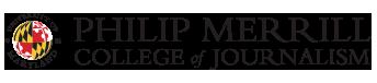 Univeristy of Maryland Philip Merrill College of Journalism Logo