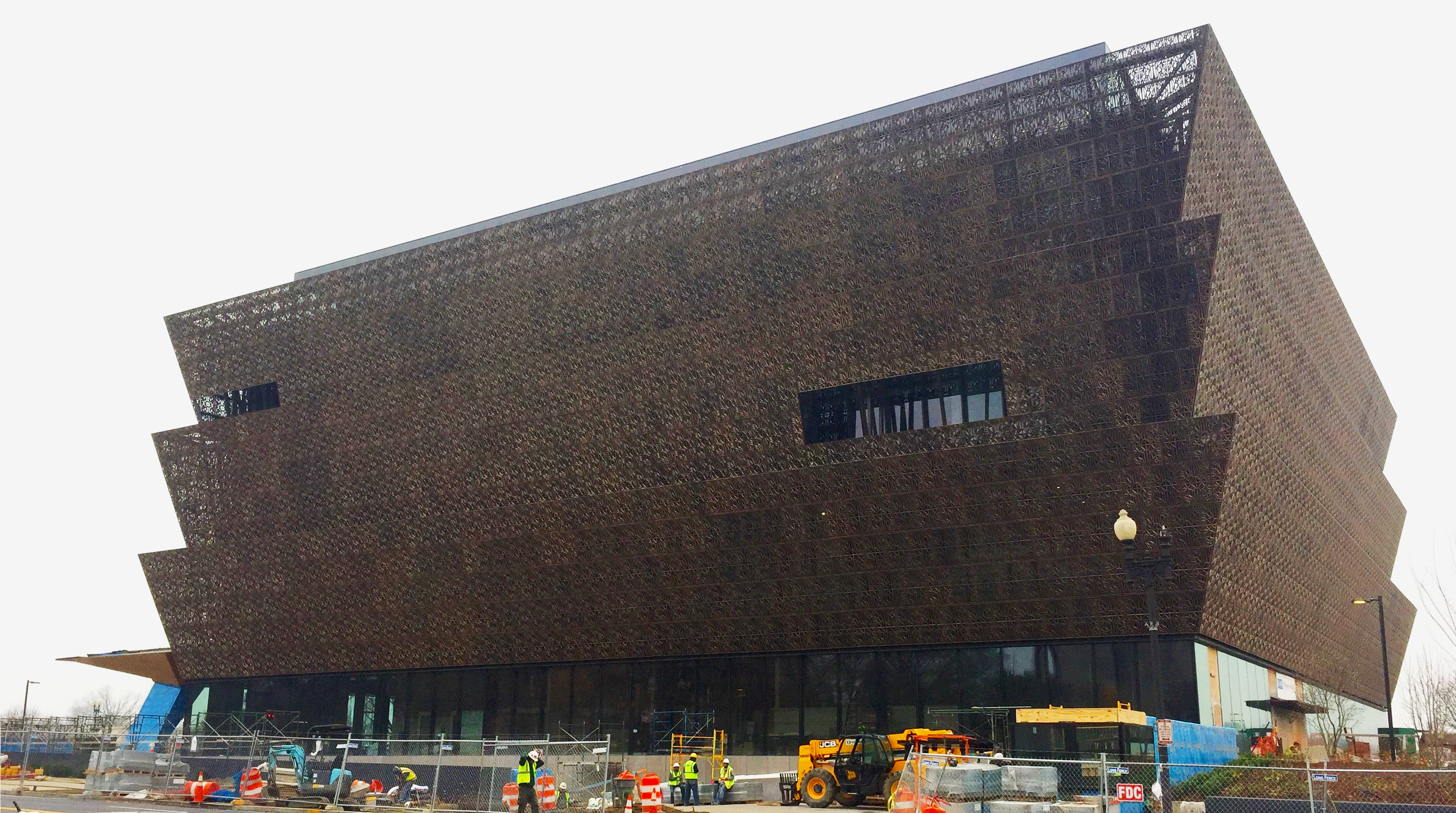 The National African American Museum of History and Culture is expected to open in the fall of 2016. Capital News Service photo by Alessia Grunberger