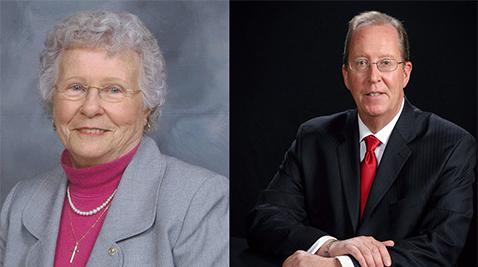 Margaret Phipps and Mark Lynch