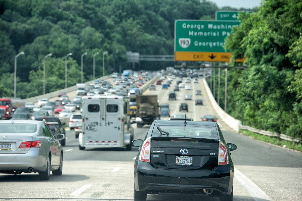Traffic on I-495. Andrea Izzotti / Shutterstock.com