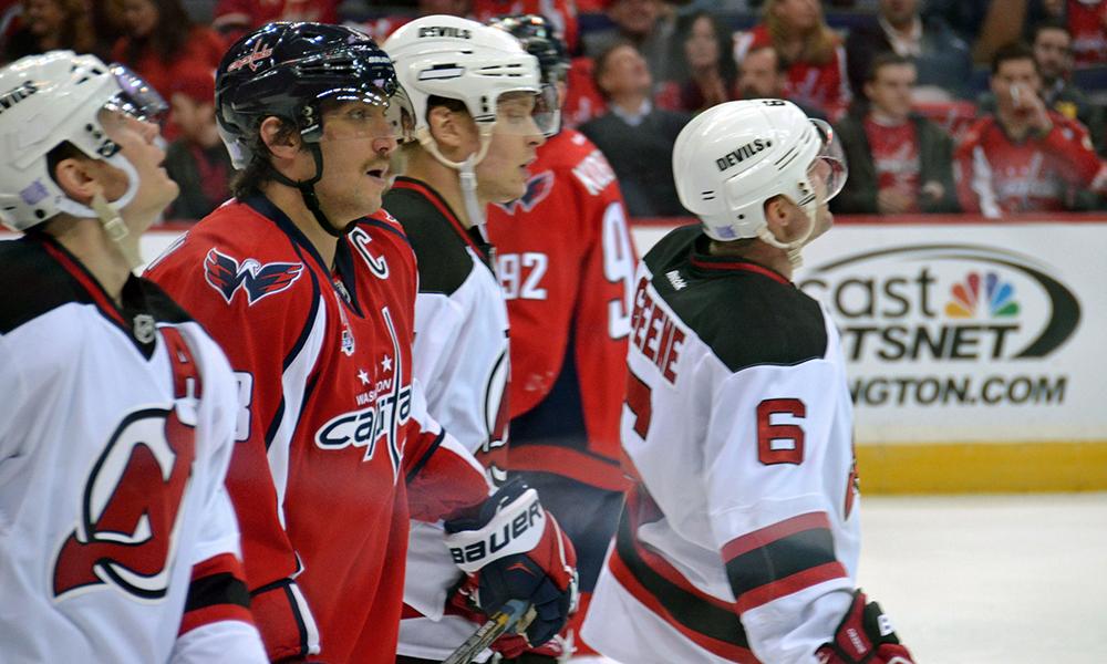 Capitals vs. Devils. Photo courtesy KBE/Flickr