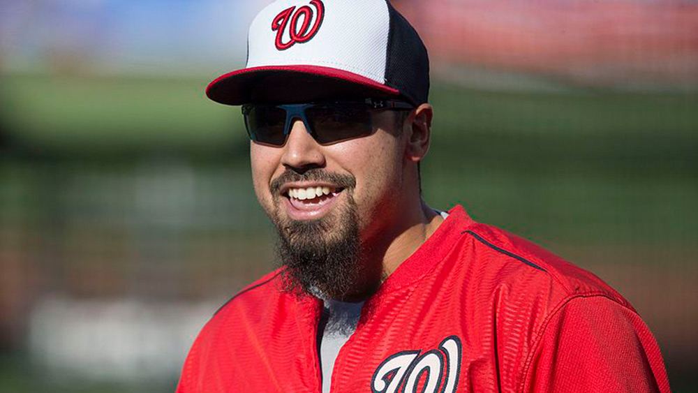 Washington Nationals third baseman Anthony Rendon is a National League MVP candidate (Photo credit: Keith Allison)