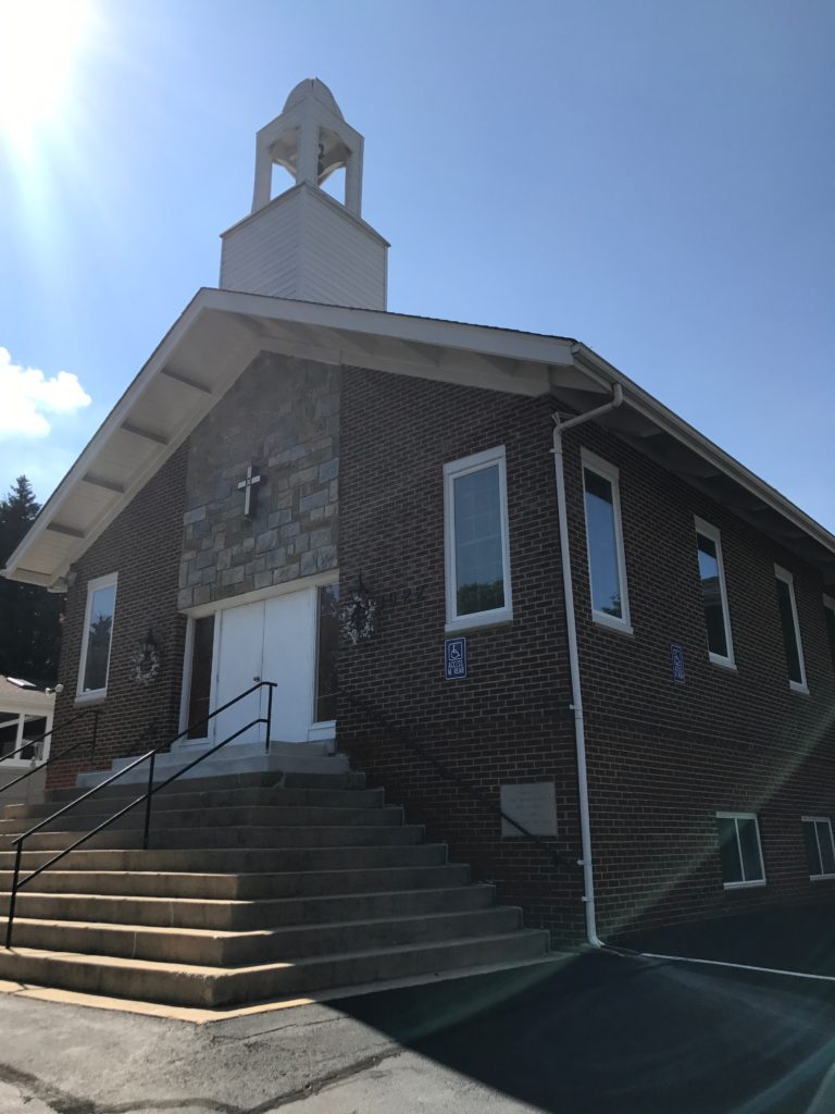 The First Baptist Church of Ken-Gar has been a cornerstone in the community since the church was first built in 1920. (Chris Miller/Capital News Service)