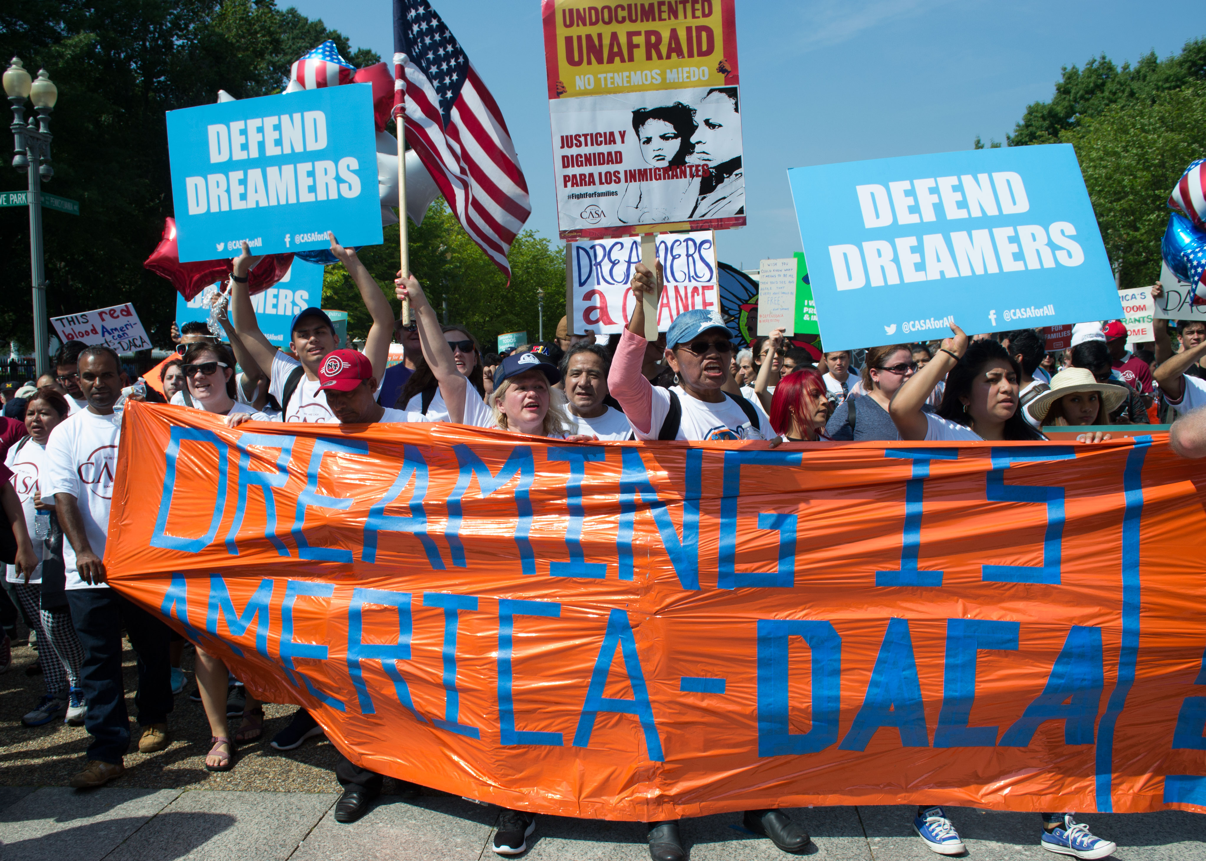 Rally and March for DACA