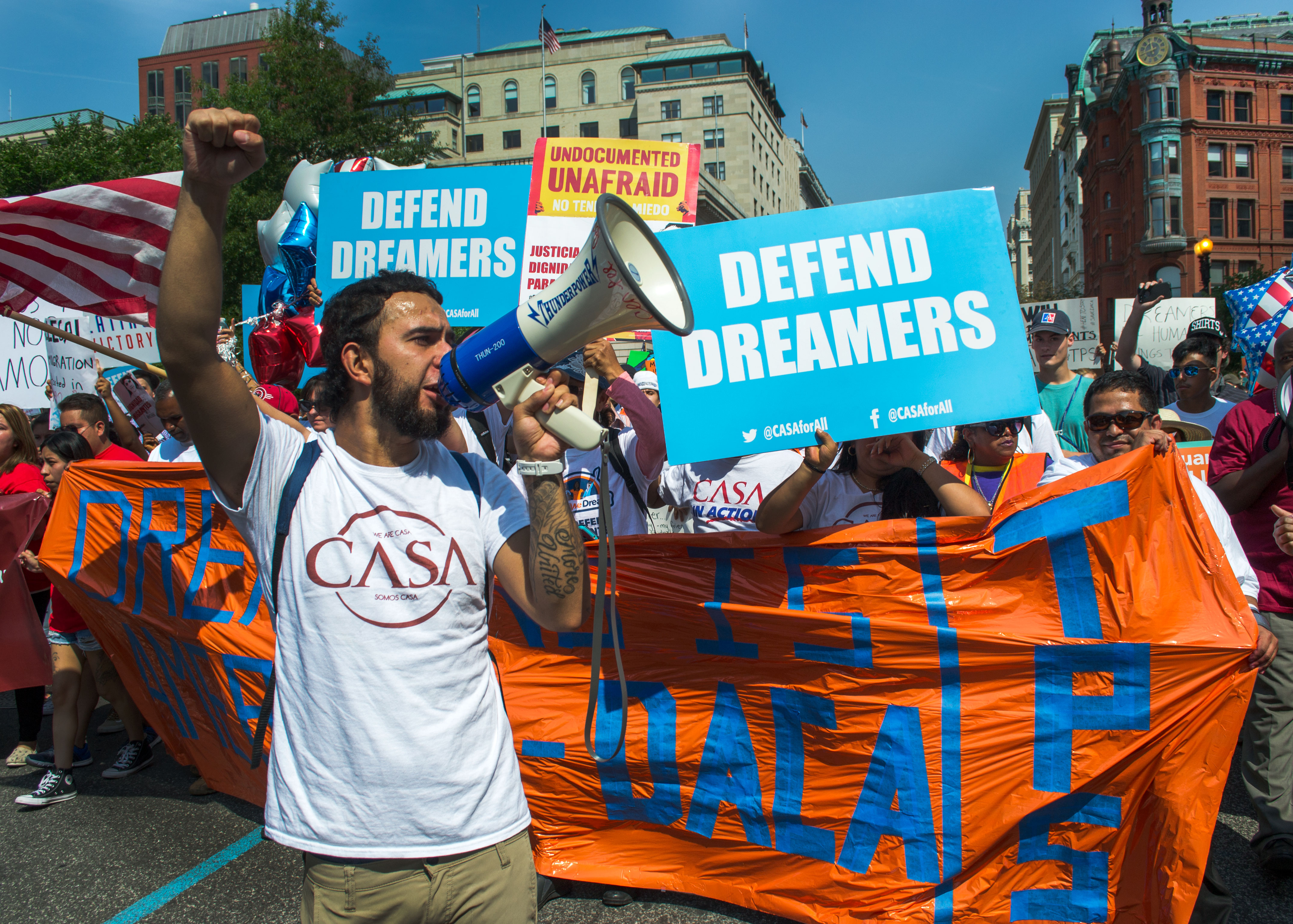 March Supporting DACA and TPS