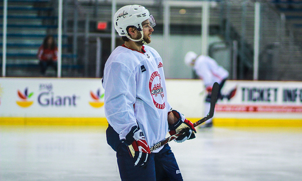 Nathan Walker has played hockey on three continents, including Australia, and could be skating on NHL ice this season. Photo by Sammi Silber.