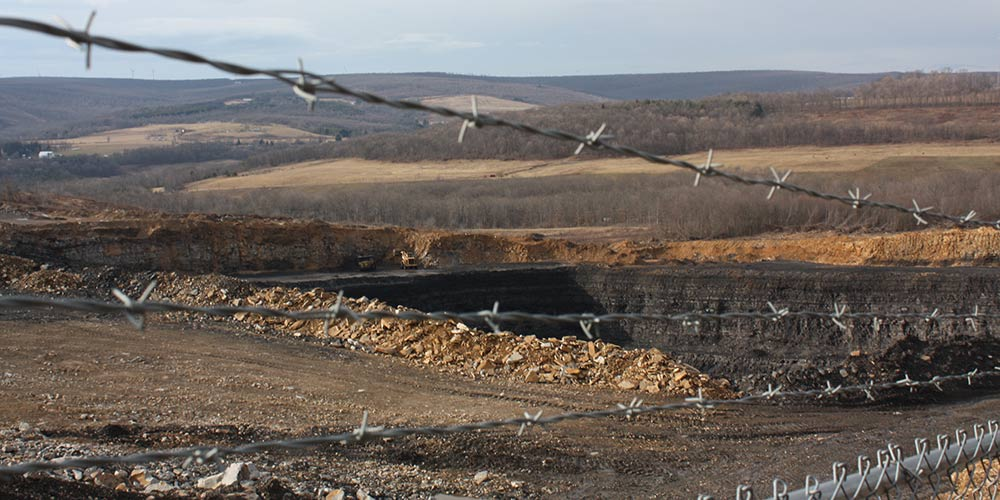 An active coal mine in Allegany County. (Photo by J.F. Meils/Capital News Service)
