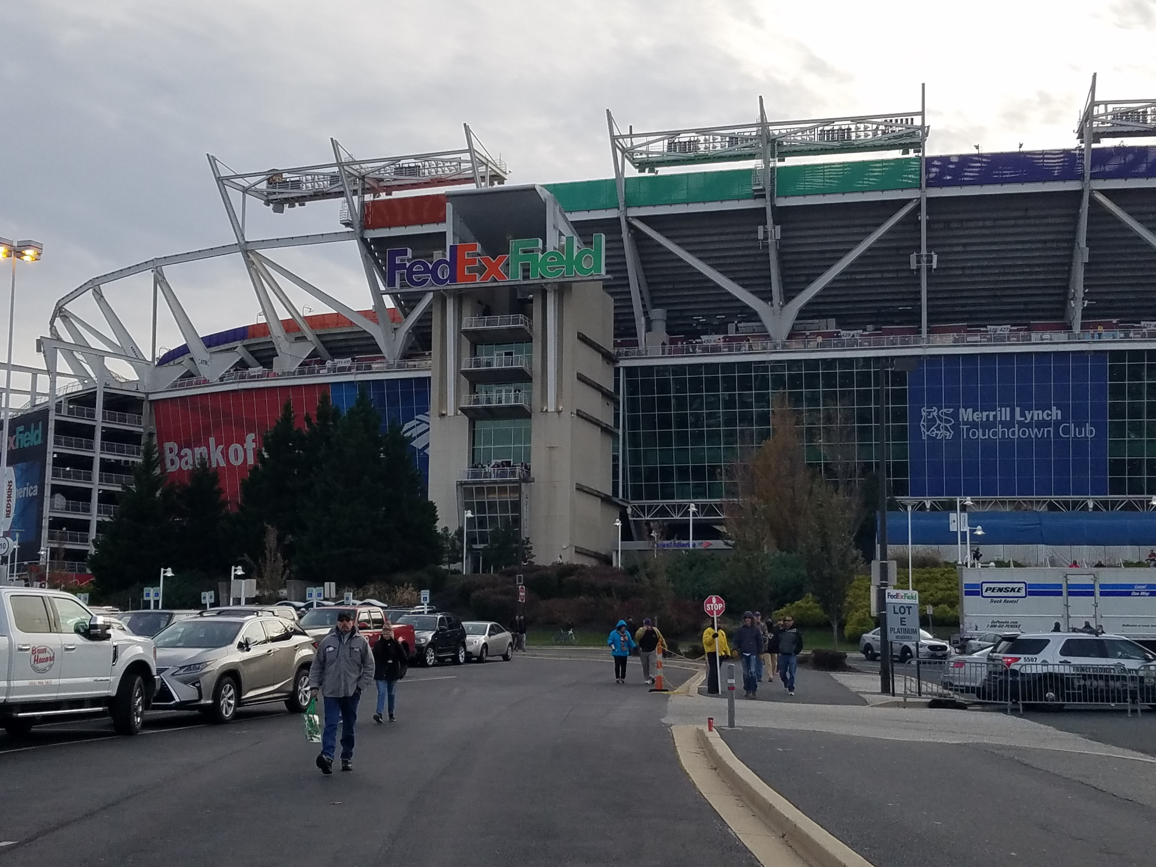 FedEx Field in Landover, Maryland could hold 2026 World Cup matches if North America wins hosting rights. (Adam Zielonka / Capital News Service)