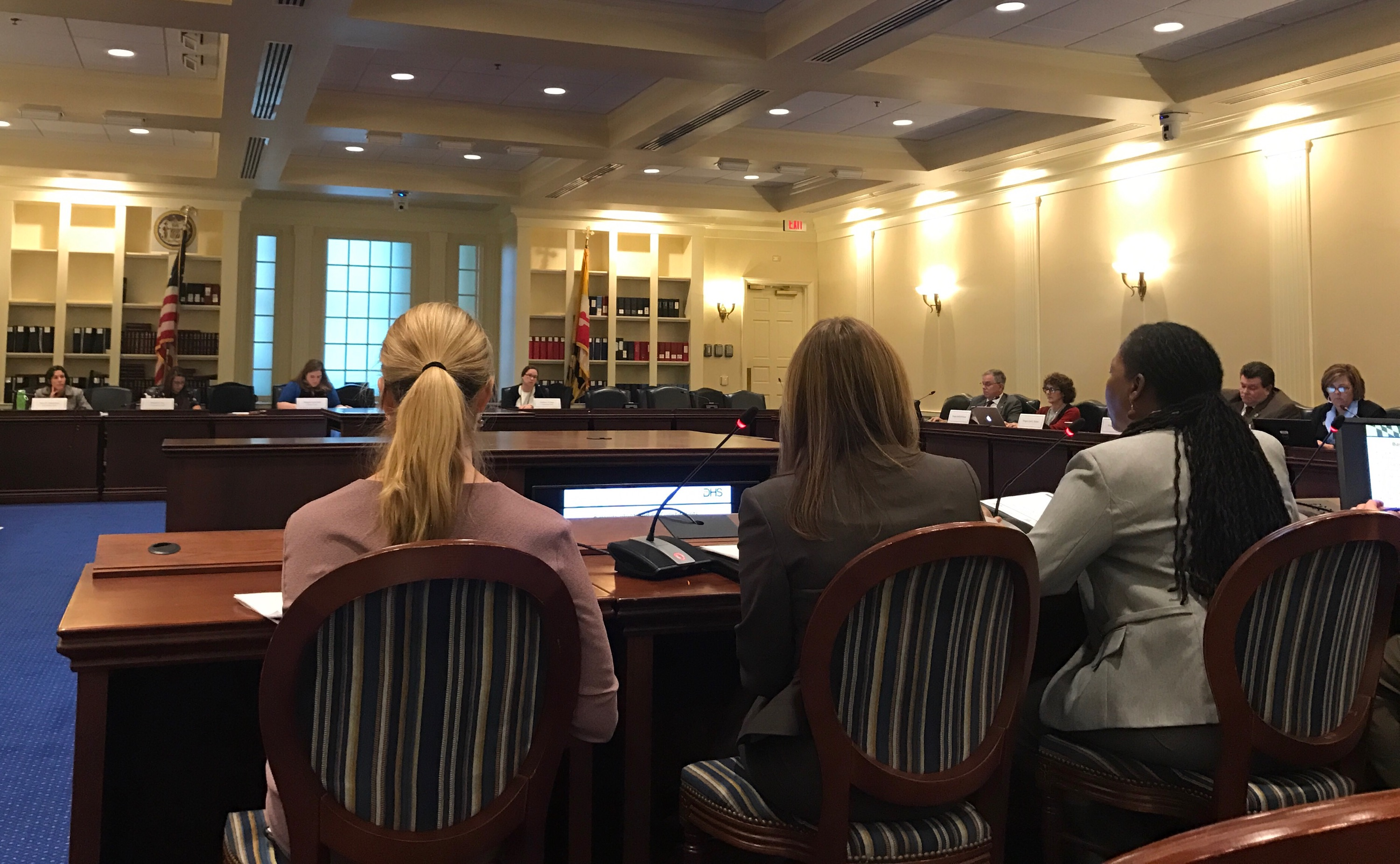 ANNAPOLIS, Md. -- A state commission met in Annapolis to share recommendations on ending multi-generational poverty in Maryland with a legislative panel on Nov. 7, 2017. (Jess Feldman/Capital News Service).