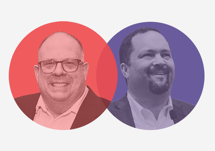 Maryland candidates for governor, Democrat Ben Jealous and Republican Gov. Larry Hogan, face off on Election Day in Maryland on Tuesday, Nov. 6.