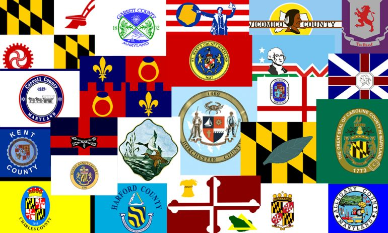 we ranked the five worst maryland county flags cns maryland