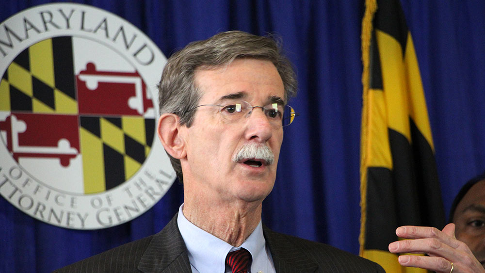 Handout photo of Maryland Attorney General Brian Frosh. Photo courtesy Raquel Coombs/Office of the Attorney General.