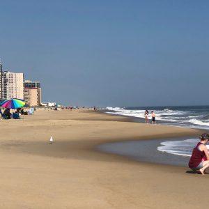 Ocean City Beach on Oct. 2