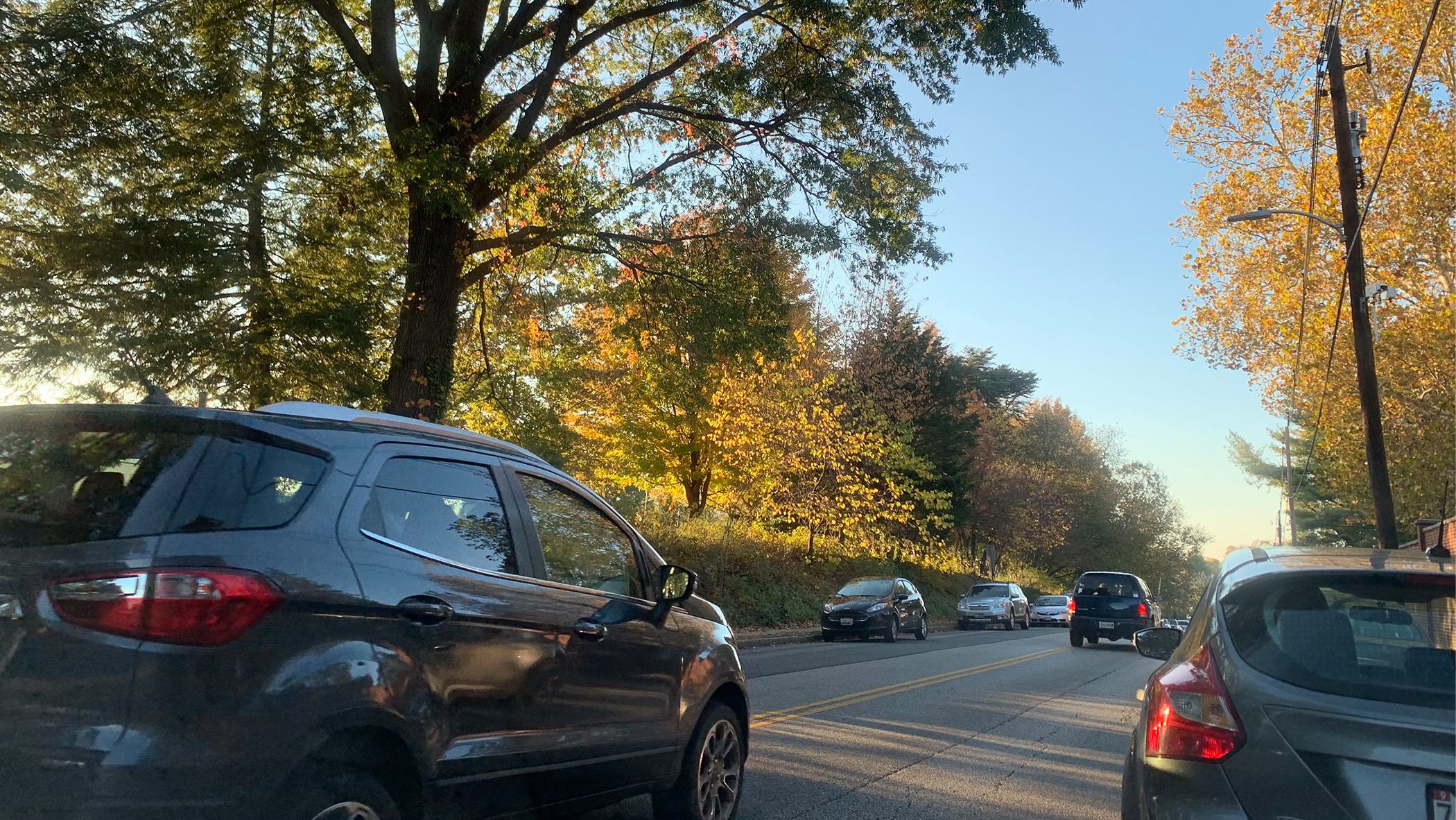 When motorists take the road in Maryland, they're subjected to surveillance and traffic data collection measures the state utilizes. (Eric Myers/Capital News Service)