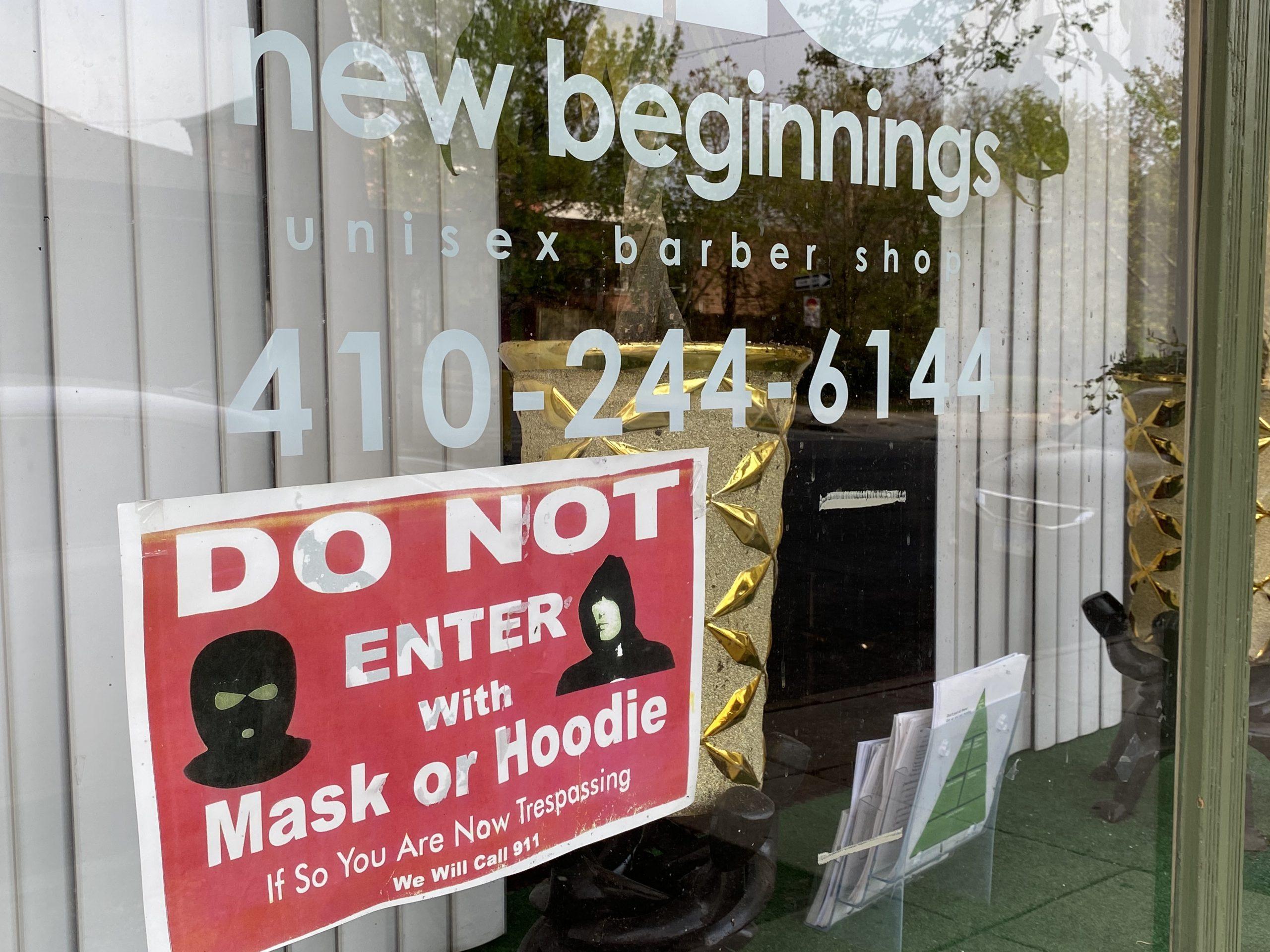 Barbershop sign