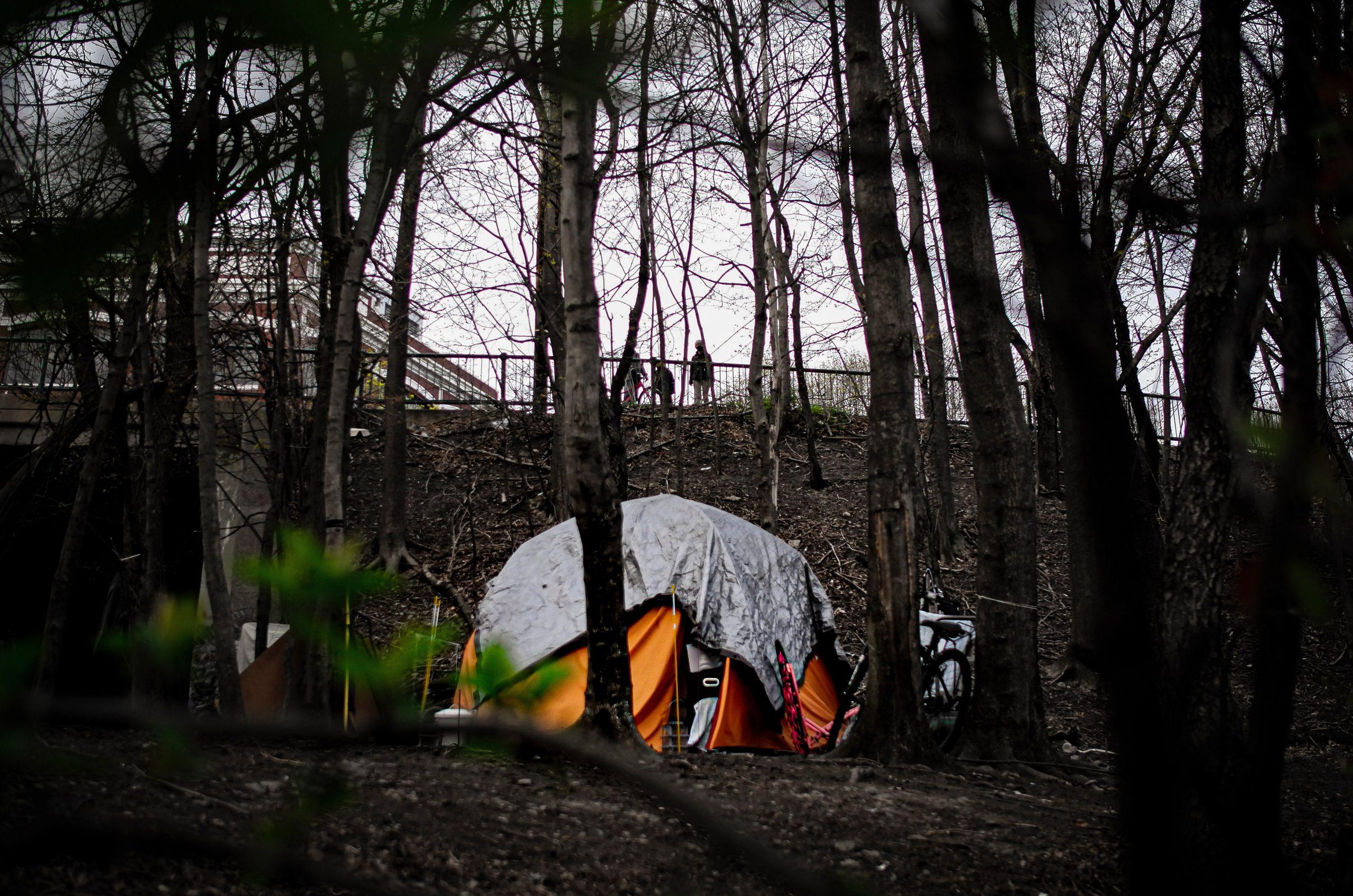 Boston encampment