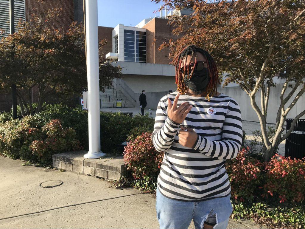 Kenyatta Bellamy. (Natalie Drum/University of Maryland)